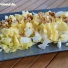 Salade d'endives aux comté, pomme et noix