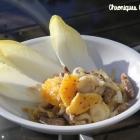 Salade de boeuf, endives et orange