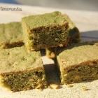 Brownie au thé matcha - Greenies