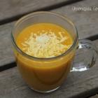 Soupe de carottes et endives parfumée au cumin
