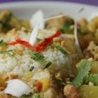Curry de porc exotique