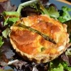 Tartelettes au chèvre et aux asperges vertes