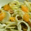 Salade de fenouil à l'orange et aux olives vertes