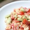 Salade croquante et colorée