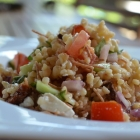 Salade de boulgour aux légumes d'été