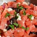 Salade pastèque et Feta