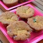 Petits cakes aux M&M'S sans oeufs mais très moelleux