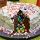Le piñata cake chocolat chantilly