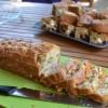 Cake classique jambon olives vertes