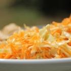 Salade asiatique de carottes et chou râpés