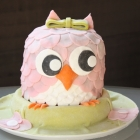 Gâteau chouette d'anniversaire !