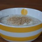 Crème de chou-fleur au lait d'avoine
