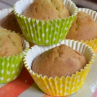 Muffins aux pommes et coeur speculoos