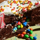 Pignata cake M&M's