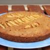Gâteau aux pommes et au sésame