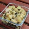 Patates, courgettes et champignons