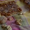 Tarte aux noix et au caramel beurre salé