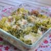 Gratin de Fusilli, brocoli et gorgonzola