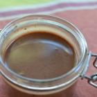 Sauce praliné chocolat