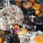 Collier d'agneau pruneaux et abricots