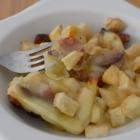 Gratin de celeri chorizo raclette