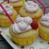 Cupcakes Daikiri fraise
