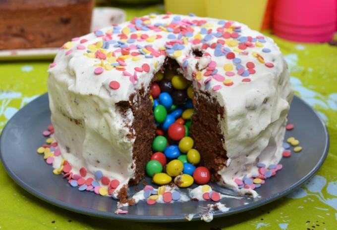 gâteau accompagnement mousse au chocolat