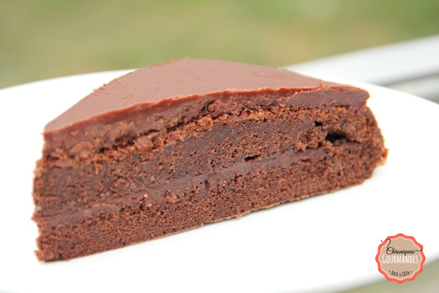 Gâteau au chocolat moelleux à l'orange