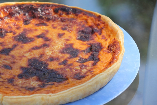 Quiche ratatouille hyper simple et rapide