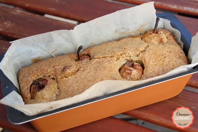 Cake aux poires sans gluten