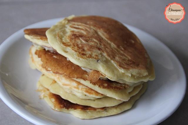 Pancakes rapides à la pomme