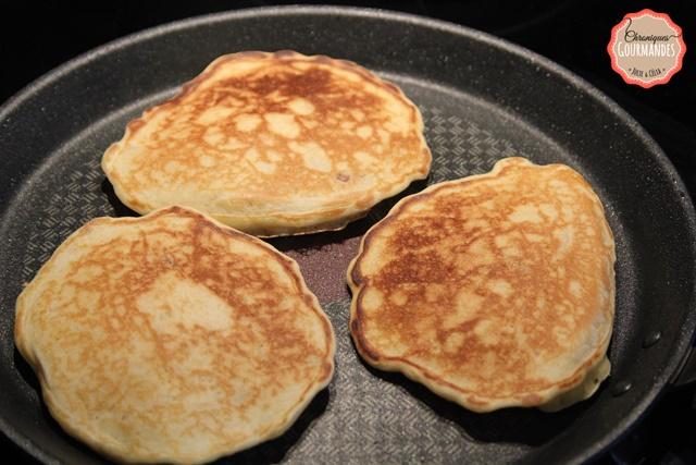 Pancakes rapide à la pomme