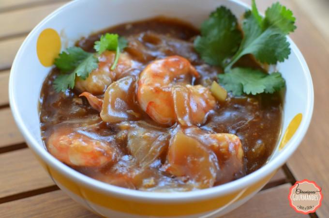 Crevettes_gingembre_coriandre