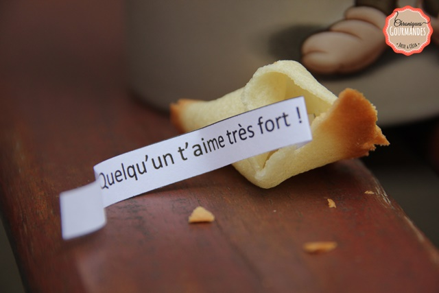Fortune cookies ou gâteaux de la chance !