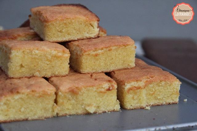 Le namandier, dessert ultra gourmand sans gluten